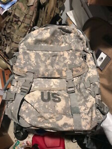 US Army Military Issue Digital ACU Pack 3 Days Molle Back Pack Backpack G 1
