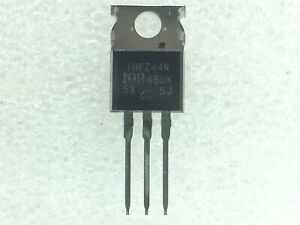 IRFZ44N IR MOSFET N CH 55V 49A TO 220AB 10 PIECES