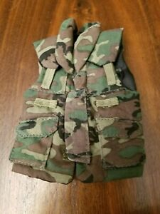 1:6 scale gear - Woodland PASGT Body Armor ***IT IS A TOY DUPONT!!***
