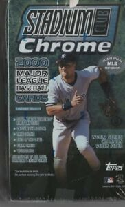 2000 Stadium Club Chrome Hobby Box - Refractors  FREE SHIPPING!