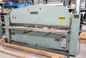 ROTO-DIE MODEL 15 Bending Capacity 120