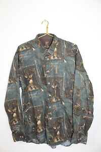 North River Outfitters~Men's Size Extra Large~Hunting/Bow~Bucks~Flintlock~Shirt