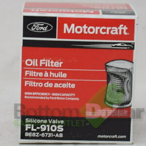 Motorcraft FL-910S High Efficiency Silicone Valve Engine Oil Filter (12 Pack)