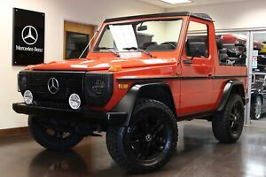 1983 G-Class CABRIOLET G WAGON Used 1983 Mercedes-Benz G-Class CABRIOLET G WAGON Red SUV 2.8L I6 4-SPEED MANUAL