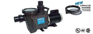 WATERWAY CHAMPION CHAMPS115 IN-GROUND SWIMMING POOL PUMP-1-1/2 HP-115/230V