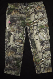 NEW WITH TAGS Womens Mossy Oak Cargo Pants Camouflage Camo Hunting Size XXL