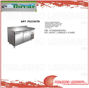 Tables Chilled Baking with Tier Vented 2+ 8°) Forcar Pa2200tn