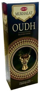 Hem Mukhalat Oudh Incense Bulk 6 x 20 Stick 120 Sticks Free Shipping