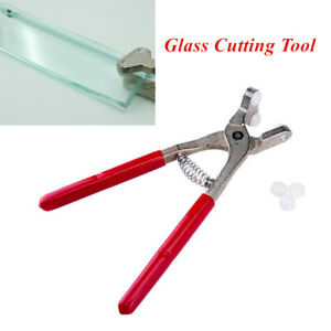 1Piece Glass Breaking Pliers for 2-8mm Glass Cutting Glazing Tool Carbon Steel