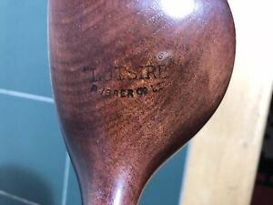 Antique Hickory Large Head Driver By Hawkins LOTSIRB Rubber Co Play Club Lovely