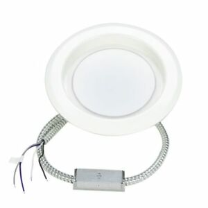 LED Down Light, Commercial Retrofit, 8 Inches, White, 120-277V, Dimmable