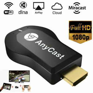 4K AnyCast M4 Plus WiFi Display Dongle HDMI Media Player Streamer TV Cast Stick