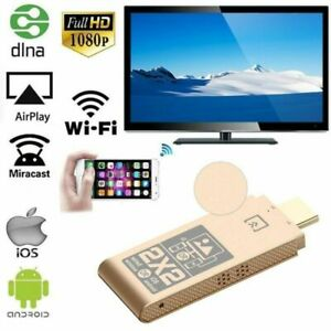 WiFi HDMI Display Dongle 2.4GHz TV Stick Miracast Airplay DLNA Adapter US