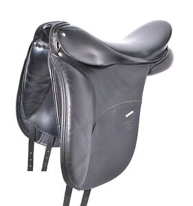 17'' SCHLEESE OSTERGAARD SADDLE (SO29449) FULL CALF GOOD CONDITION! - CAN