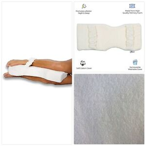 Back Support Systems Knee-T Leg Pillow Patented - Medical Grade High Density Foa