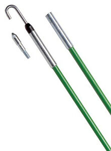 Greenlee 540-24 Ez Reach Stix Kit with Bullet Nose And J-Hook Threaded Tip 24'