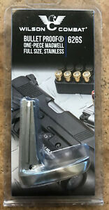 Wilson Combat Bullet Proof One-Piece Magwell Full Size Stainless 626S