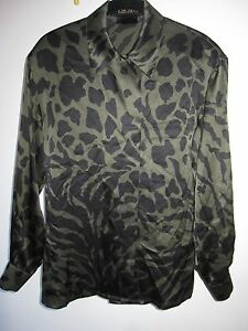 ESCADA **Designer SILK SHIRT** ITALY 34 US Small