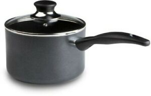 Dishwasher & Oven Safe PFOA Free Cookware Handy Pot Sauce Pan with Glass Lid 3qt