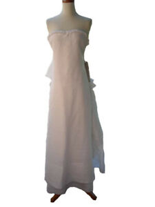 BCBG MAXAZRIA Strapless Wedding Dress Size 0 MSRP $1200 BHLDN Monique Lhuillier