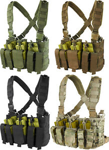 Condor MCR5 Tactical Kangaroo Magazine Pouch Military Recon Harness Chest Rig