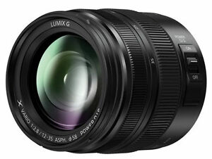 Panasonic H-HSA12035 Lumix G X Vario 12-35mm f2.8 II Asph. Power O.I.S. Lens