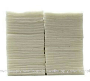 * LARGER SIZE * Japanese Cotton [30 XL PADS] Muji Unbleached Wicking Wick