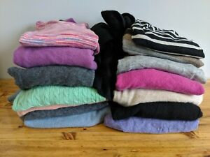 15 Cashmere Sweaters For Craft Sewing Projects Multicolors Men's Women's Cutter