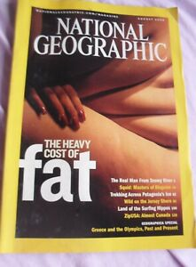 National Geographic Cost of Fat Squid Pattagonia Hippos Jersey seashow Aug 2004