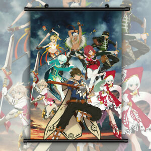 Tales of Zestiria Sorey HD Print Anime Wall Poster Scroll Room Decor