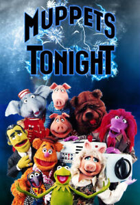 RARE! MUPPETS TONIGHT COMPLETE SERIES (on 5 DVDs)  (no case)