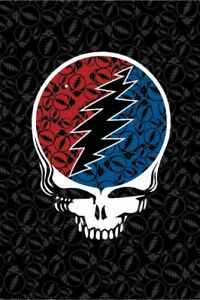 New Large Steal Your Face Grateful Dead 52x80 Tapestry Huge Wall Hanging NIP SYF $27.73