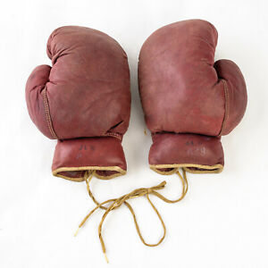 Vintage Boxing Gloves A29 Leather