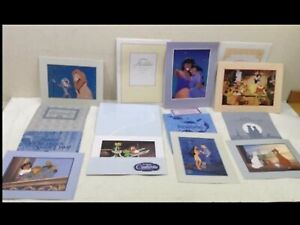 DISNEY Exclusive Commemorative Lithograph n envelope HUGE LOT TAKE A PEAK!!