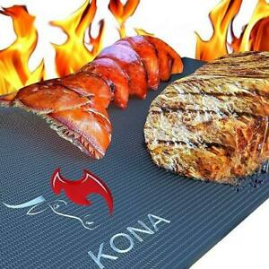 KONA Best BBQ Grill Mats - Heavy Duty 600 Degree Non-Stick Grilling Mats