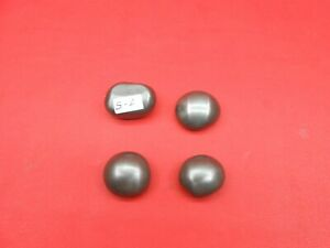 Wootz Bullet Ingot Cake 4 Pieces Lot Use As A Table Paperweight For Supply S-1