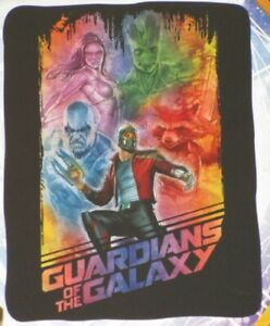 New Marvel Guardians of the Galaxy Movie Fleece Throw Gift Blanket Groot SOFT 2