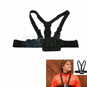 Chest Body Strap Mount Harness Adjustable Belt Accessory For Gopro Hero 233+4
