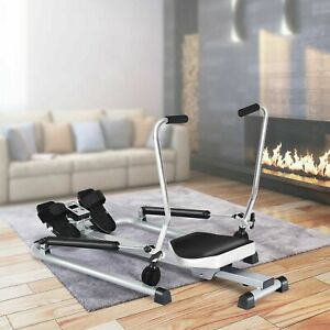 Rowing Machine with Adjustable Resistance Home Gym Fitness Exercise Equipment