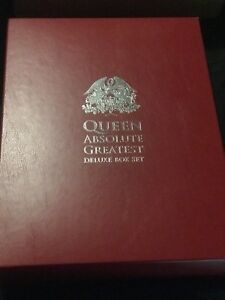 Queen Absolute Greatest Box Set Cd 203 Of Only 500ONLY 1 ON EBAY !!!!!