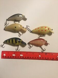 Assorted Norman Lures Lot Of 5