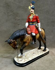 MICHAEL SUTTY SOLDIER FIGURE ON HORSE