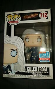 Killer Frost #712 Funko Pop fall EXCLUSIVE convention FLASH tv