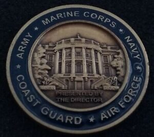 RARE Director White House Military Office WHMO President POTUS US Challenge Coin
