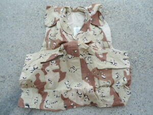 US Military PASGT Vest Cover Chocolate Chip LARGEX-LARGE (NEW)