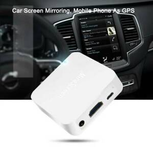Car WiFi Display Mirror Link Adapter MiraScreen DLNA Airplay RCA For Android iOS
