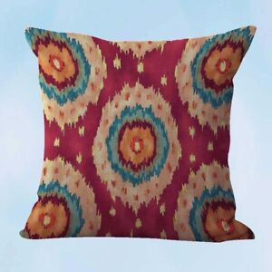 ikat accent cushion cover throw pillow case covers $12.99