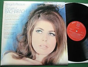 Strings for Pleasure Play The Best of Bacharach inc Anyone Who Had a Heart  LP