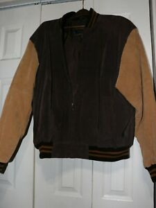 Vintage Varsity Brown Jacket