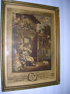 Les Amours ChampetresAntique Engraving After19th Century French Engraving. $70.00